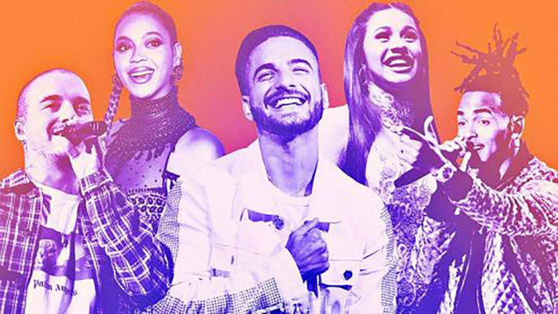 latin hot 100 hits 2018 billboard