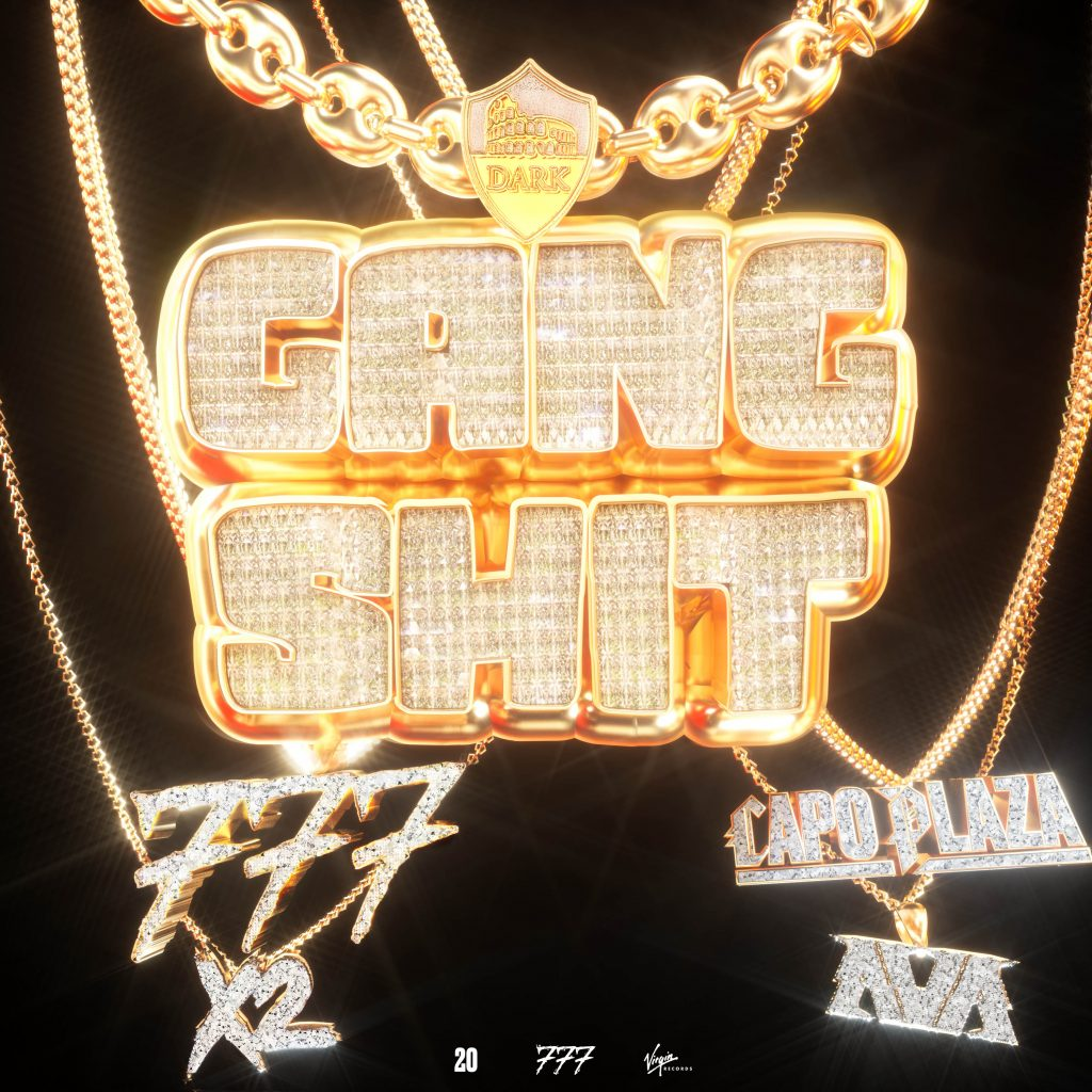 "La cover di ""Gang Shit"" della Dark Polo Gang"