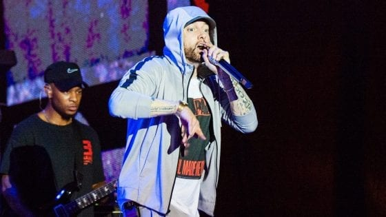 Eminem batte il record di presenze al Melbourne Cricket Ground