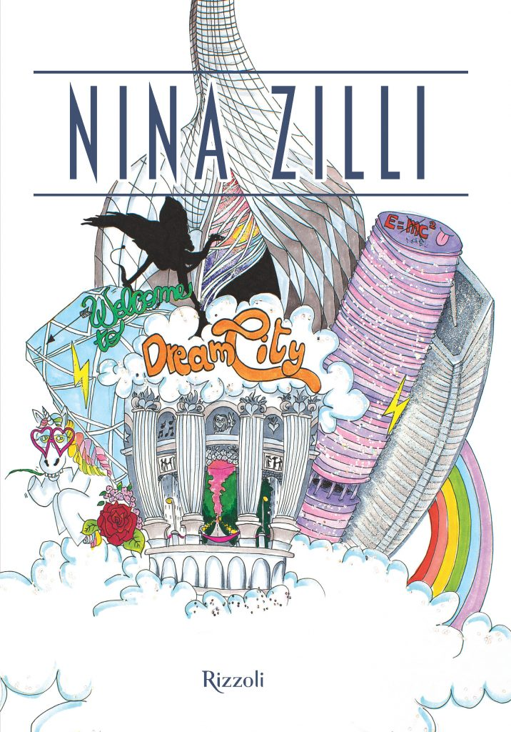 "La cover di ""Dream City"", il libro illustrato di Nina Zilli"
