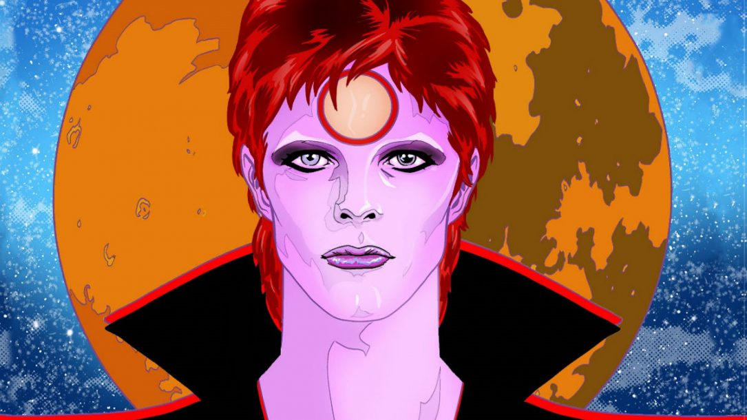La cover di Bowie Stardust Rayguns & Moonage Daydreams