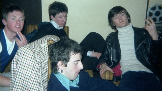 I The Undertones. Da sinistra a destra: Billy, Michael, John e Fergal