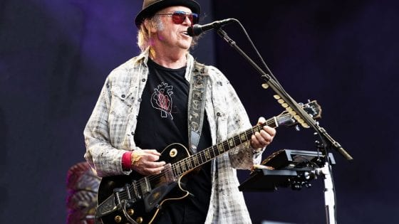 Neil Young a Londra nel 2019, Jo Hale/Redferns