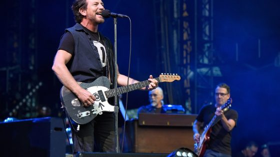 I Pearl Jam al Fenway Park a Boston nel 2016, Kevin Mazur/Getty Images