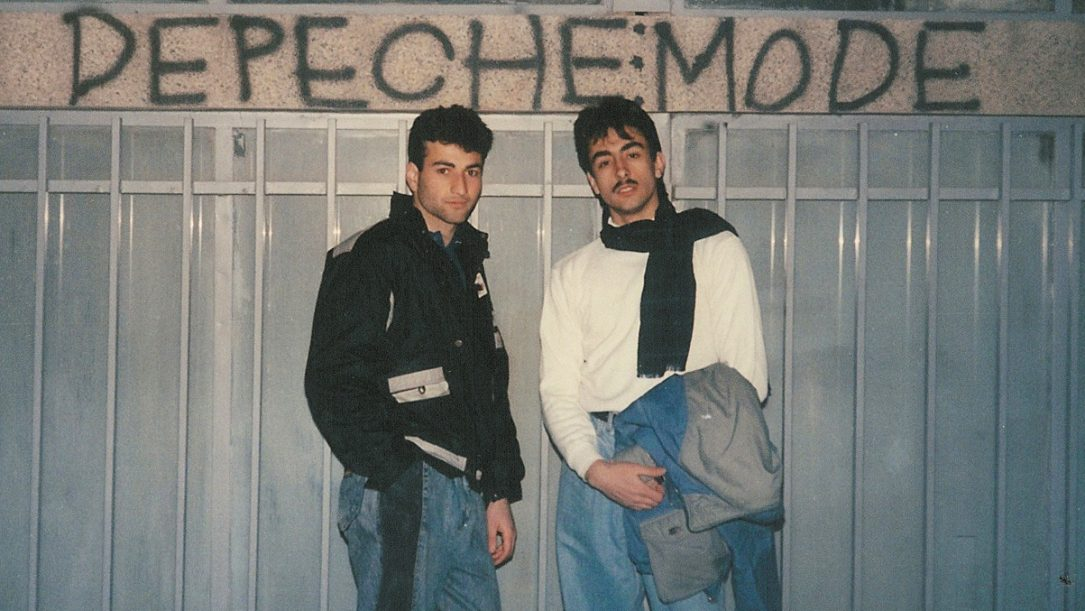 Our Hobby Is Depeche Mode - andy from iran, tehran, early 1990's - pic by andy helmi 2