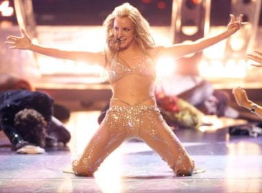Britney Spears sul palco degli MTV VMAs nel 2000, Scott Gries/Getty Images