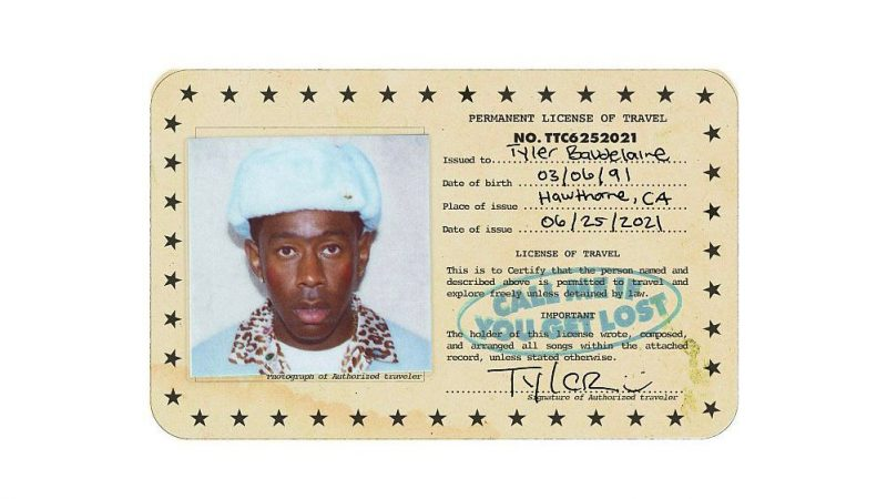 Tyler, The Creator. Cover art di Call Me If You Get Lost