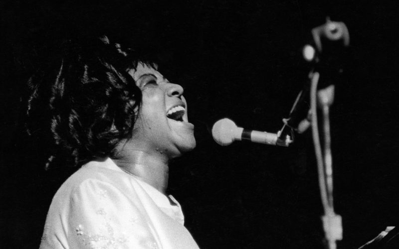 Aretha Franklin in performance (Atlantic Records Archives)
